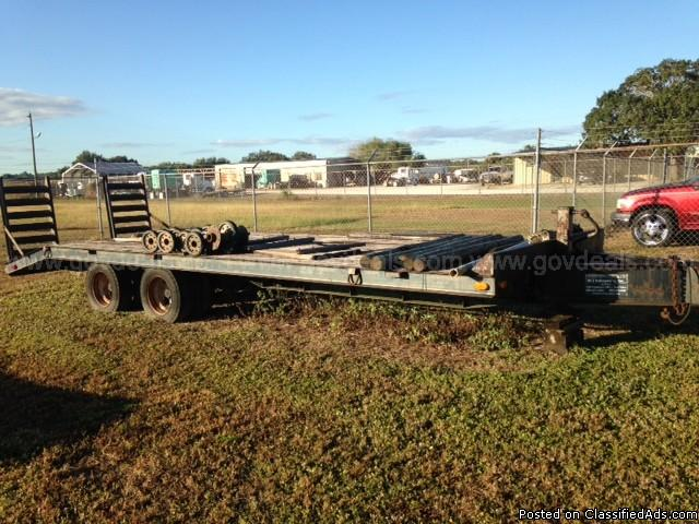 Pintle Ring Equipment Trailer