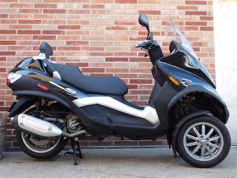 piaggio mp3 three wheeler 250 motorcycles for sale. Black Bedroom Furniture Sets. Home Design Ideas