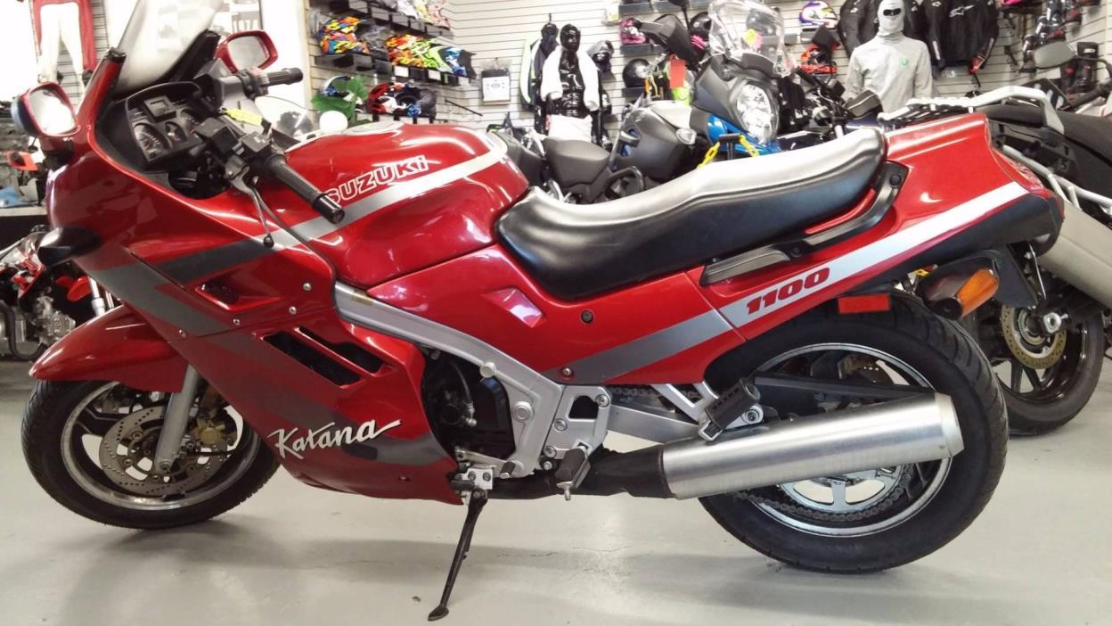 1100 Katana Suzuki Motorcycles For Sale