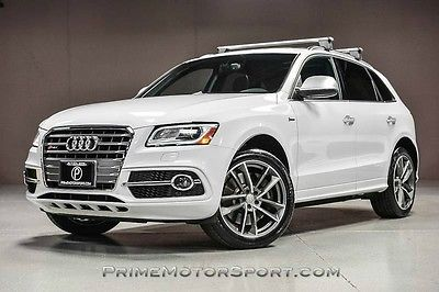 2015 Audi Q5 Premium Plus Sport Utility 4-Door 2015 AUDI SQ5 PREMIUM PLUS 1OWNR TECH PKG B&O SOUND 20S