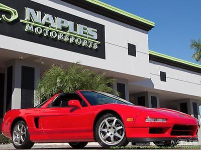 1995 Acura NSX  1995 Acura NSX NSX-T 5 Speed Manual 2-Door Coupe