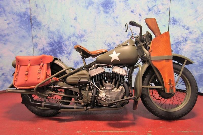 1942 Harley-Davidson WLA SERIES 3