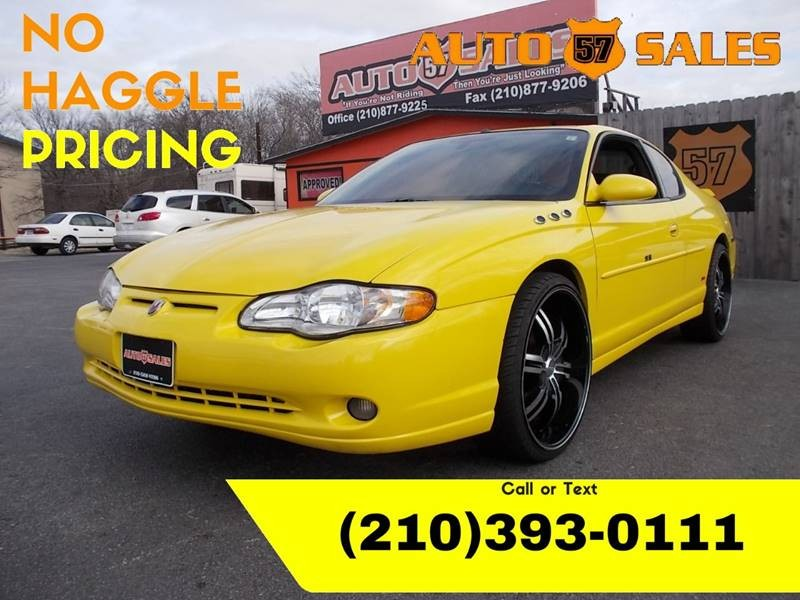 2004 Chevrolet Monte Carlo SS 2dr Coupe