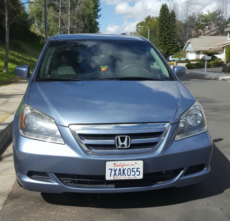 2007 Honda Odyssey 2007 Honda Odyssey EX, Ocean Blue