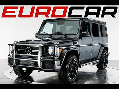 2014 Mercedes-Benz G-Class Mercedes-Benz G 63 AMG, FULL FACTORY WARRANTY, CLASSIC RED INTERIOR, IMPECCABLE