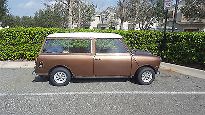 1974 Austin 1974 Austin Mini Cooper 1000 Traveller Wagon Clubman Right-Hand Drive