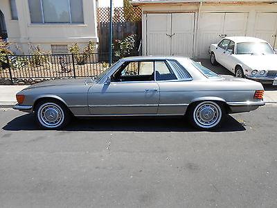 1973 Mercedes-Benz SL-Class SLC 1973 Mercedes Benz 450 slc, nice california coupe,