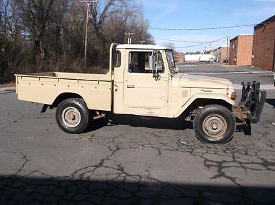 1981 Toyota Land Cruiser HJ47 Ute Pickup 1981 Toyota HJ47 Land Cruiser Ute Diesel Pickup Truck RHD FJ45 HJ45 FJ40 Troopy
