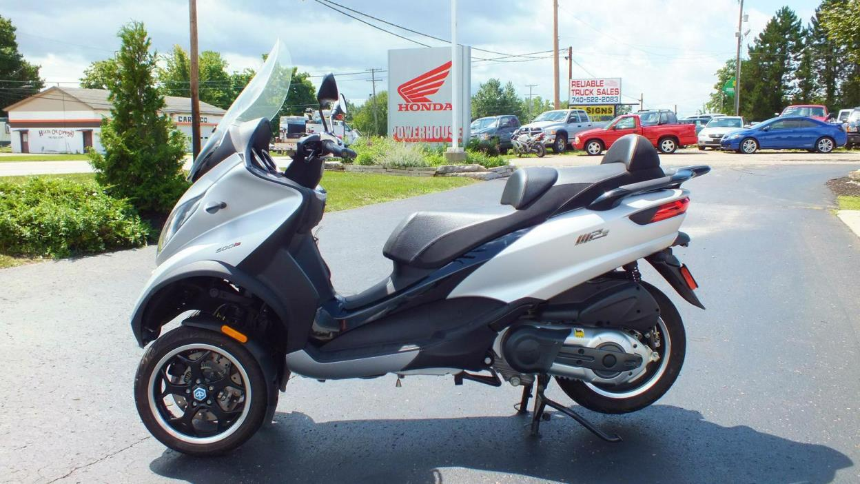 piaggio mp3 500 sport motorcycles for sale in ohio. Black Bedroom Furniture Sets. Home Design Ideas