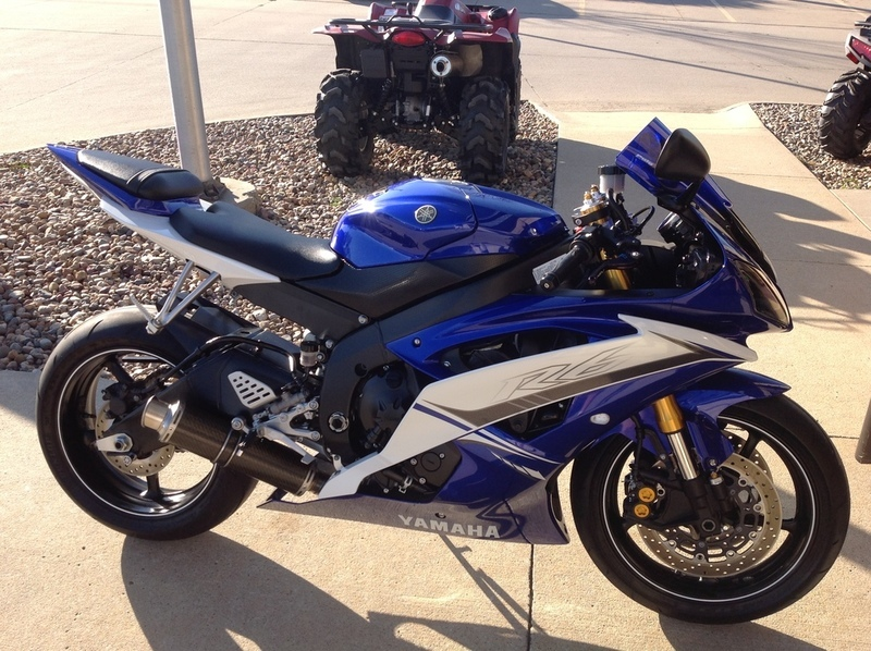 yamaha yzf r6 motorcycles for sale in des moines iowa