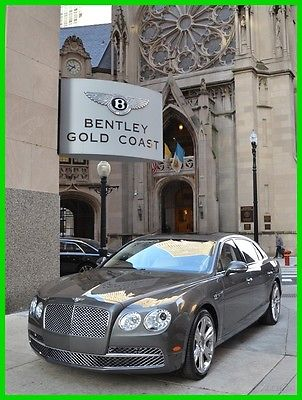 2015 Bentley Flying Spur Bentley Flying Spur W12 2015 W12 Used Turbo 6L W12 48V Automatic AWD Premium Moonroof