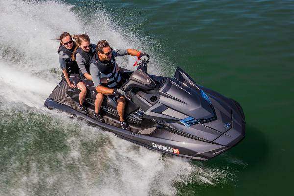 2017 Yamaha Waverunner FX Cruiser HO
