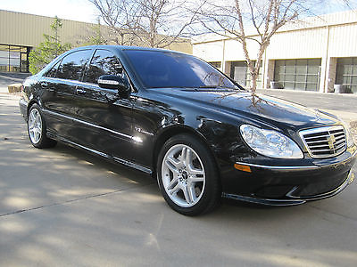 2004 Mercedes-Benz S-Class S55 2004 Mercedes S55 AMG Only 36K Miles, Fully Loaded, XM, GPS, Keyless, Great Deal