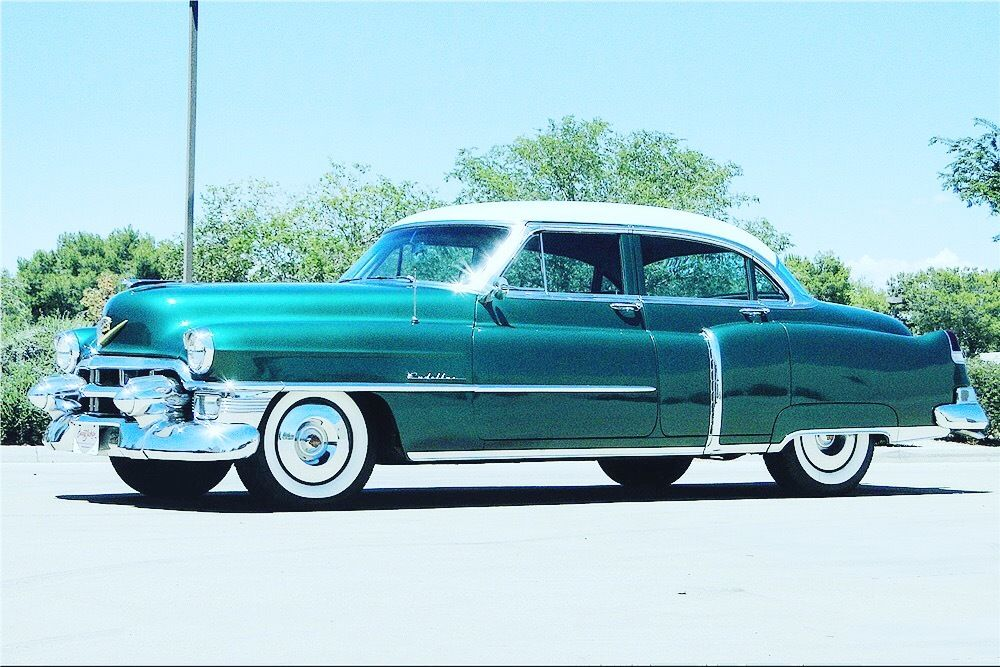 1953 Cadillac DeVille Sedan 1953 CADILLAC DeVille Sedan 32,442 Miles Green Automatic