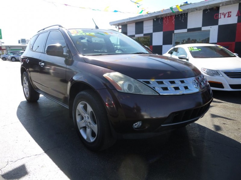 2003 Nissan Murano Se Cars For Sale