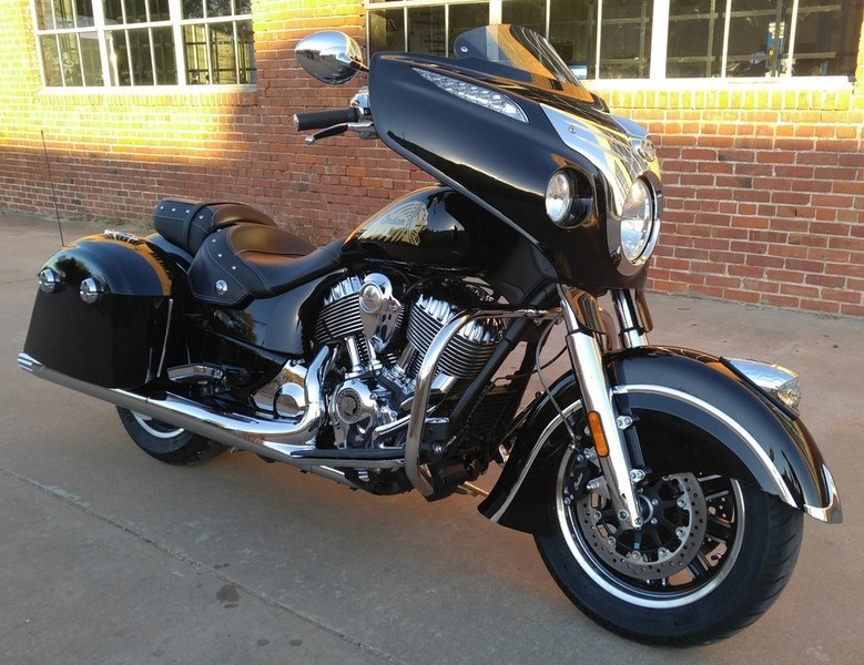 Indian Chieftain Thunder Black Motorcycles For Sale In