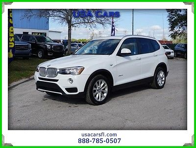 2016 BMW X3 xDrive28i 2016 BMW X3 Xrive28i Turbo 2.0I Sunroof Heated seats