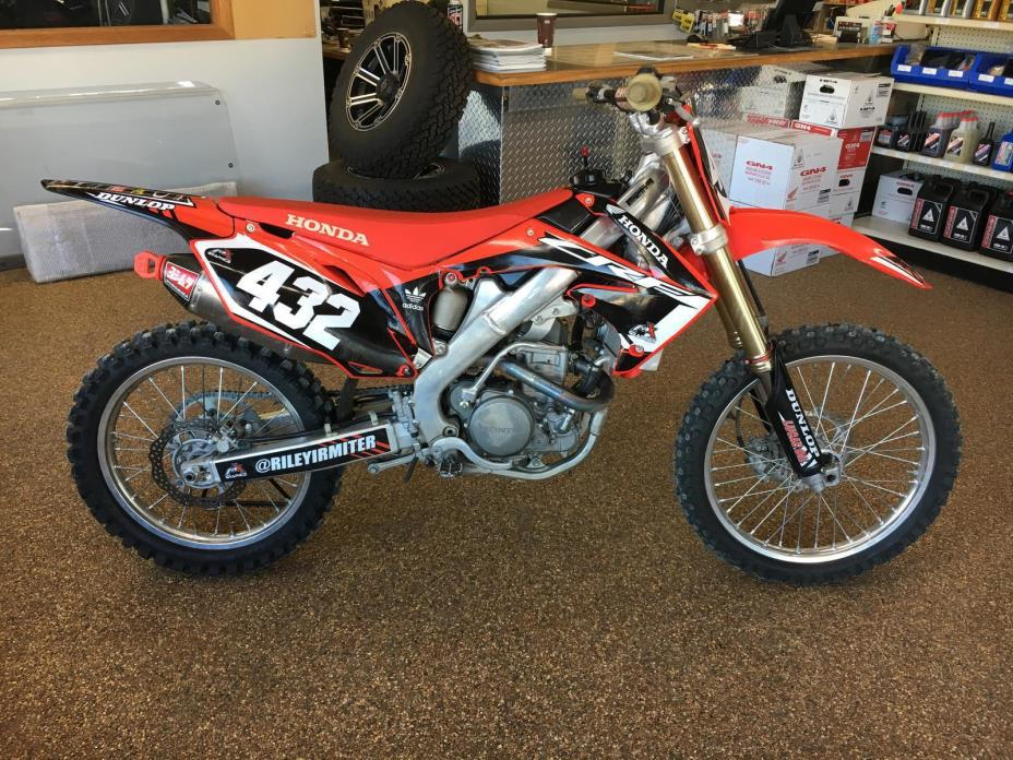 2012 honda crf motorcycles for sale in iowa. Black Bedroom Furniture Sets. Home Design Ideas