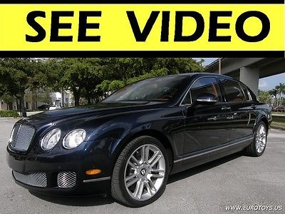 2011 Bentley Continental Flying Spur  2011 Bentley Continental Flying Spur,V12 6.0LTwin-Turbo,AWD,CARFAX,SEE VIDEO!!