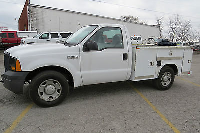 2007 Ford F-250 F350 4X2 REG CAB UTILITY BED 5.4 AUTO FLEET LEASE!DRIVE IT HOME FOR $6990!!$$$SAVE THOUSAND$$$READY TO GO BACK TO WORK