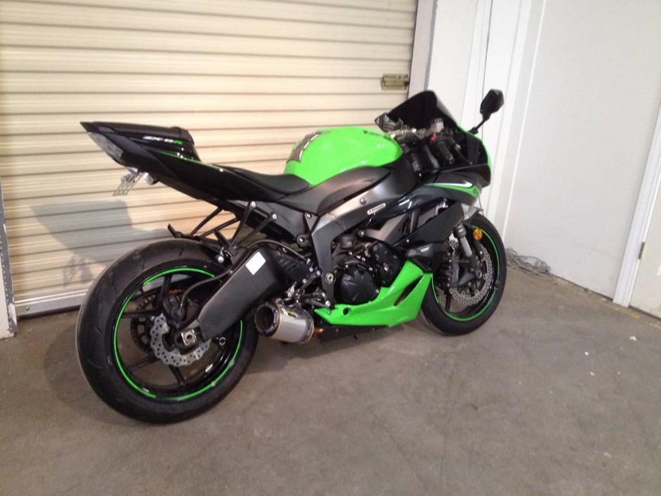 2010 Kawasaki Ninja Zx6r Motorcycles for sale