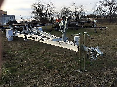 2016,  32 ft Triple axel boat trailer, Less than 10 miles on it.