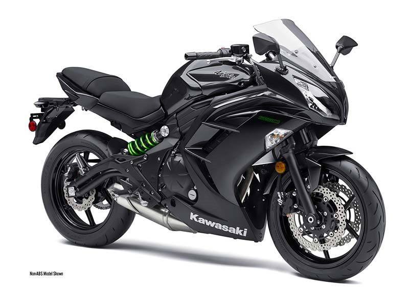 2016  Kawasaki  Ninja 650 Metallic Carbon Gray