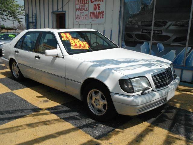 1996 Mercedes-Benz S-Class S420 4dr Sedan