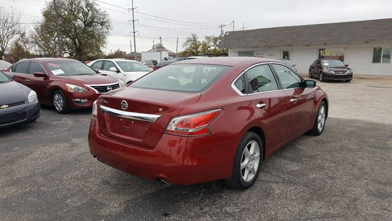 2015 Nissan Altima 2.5 S 4dr Sedan
