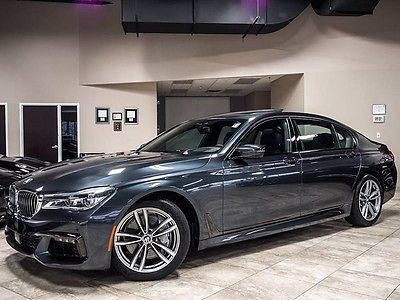 2016 BMW 7-Series 2016 BMW 750i xDrive M Sport $124k+MSRP Executive Rear Lounge Seats NightVIsion