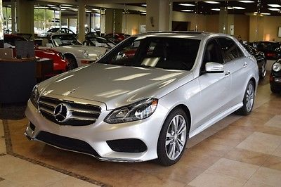 2014 Mercedes-Benz E-Class Base Sedan 4-Door 2014 Mercedes-Benz E-Class E350 Sport LOADED WARRA