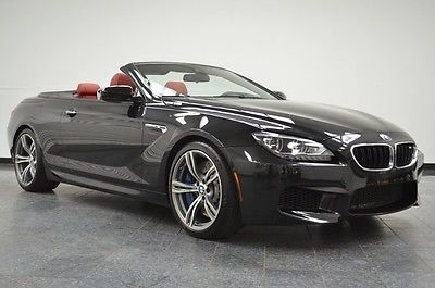 2014 BMW M6 Convertible M6 Black with Red 1 Owner 2014 BMW M6, with 27,708 Miles available now!