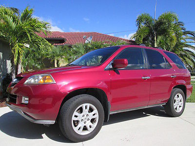 2005 Acura MDX TOURING AWD Rust Free Florida MDX! Only 2 Owners! Service History From New Inc Timing Belt!