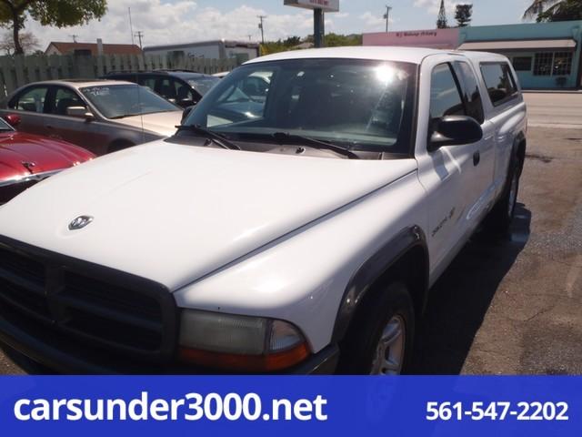 2002 Dodge Dakota Club Cab 131 WB Base