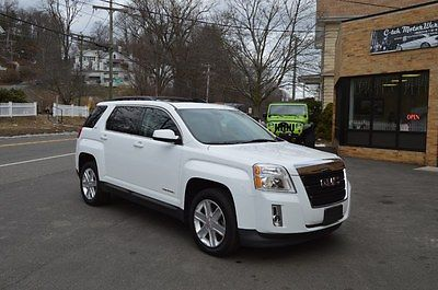 2011 GMC Terrain AWD 4dr SLT-1 2011 GMC Terrain AWD 4dr SLT-1 Olympic White Sport Utility Leather 4 CYL. AWD