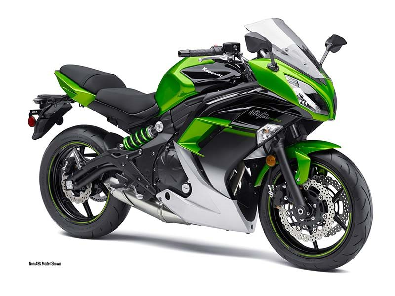 2016  Kawasaki  Ninja 650 Candy Lime Green / Metallic Spark Black