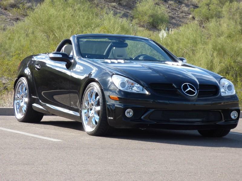 2007 Mercedes-Benz SLK55 2dr Roadster 5.5L AMG