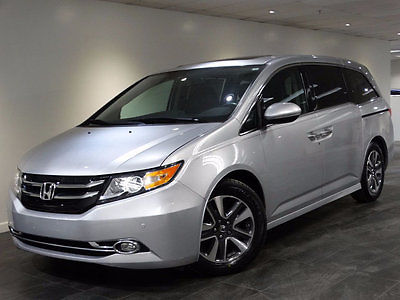 2015 Honda Odyssey 5dr Touring Elite 2015 ODYSSEY TOURING ELITE NAV REAR-CAM 3RD-ROW DVD BLINDSPOT HEATED-STS WARANTY