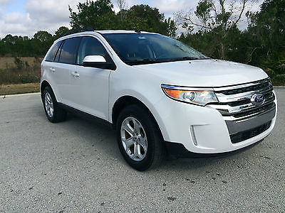 2013 Ford Edge SEL 2013 Ford Edge SEL 3.5L 35k miles Leather Navigation Backup Camera Rebuilt