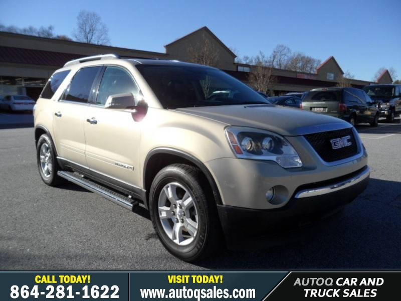 2008 GMC Acadia SLT1 - TV/DVD Player