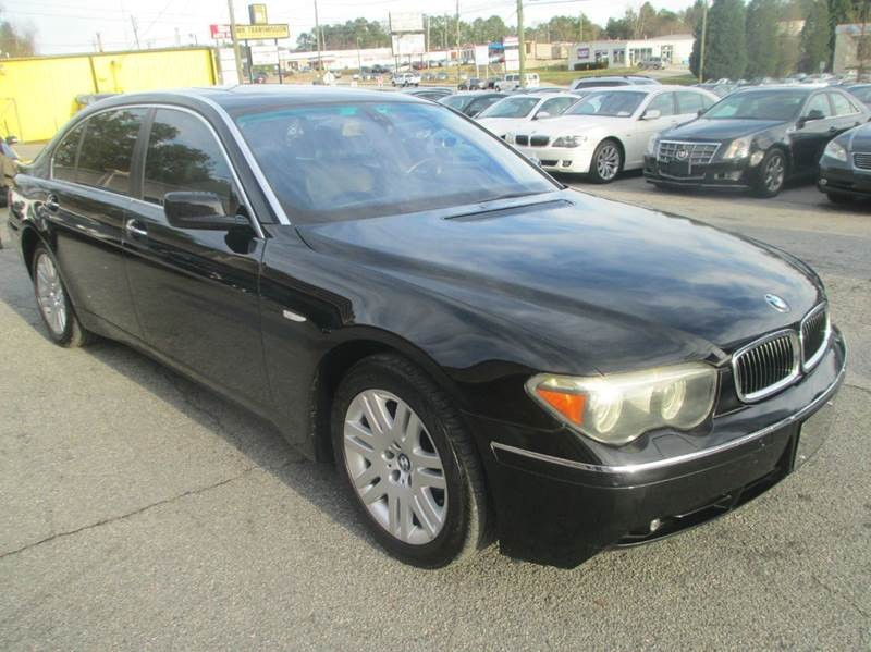 2005 BMW 7 Series 745Li 4dr Sedan
