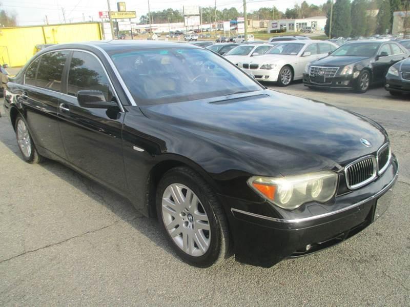 2005 BMW 7 Series 745Li 4dr Sedan