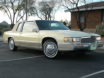 1990 Cadillac DeVille Base Coupe 2-Door 1990 Cadillac Coupe DeVille Special Edition