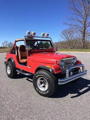 1983 Jeep CJ 2 door SUV 1983 Jeep CJ-7 One owner 31k original miles 1st good offer takes it