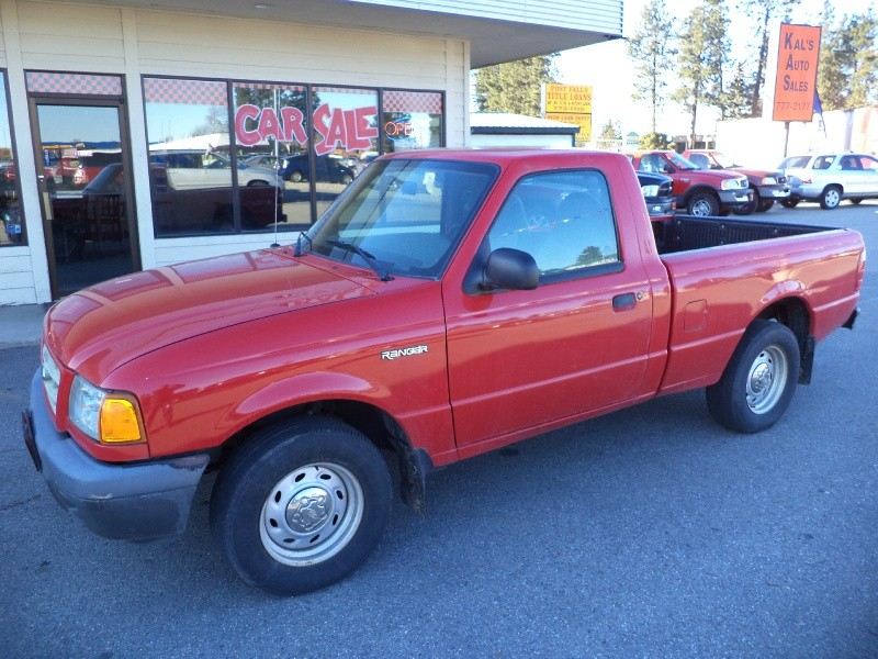 2002 Ford Ranger Reg Cab 2.3L XL 4 cyl 5-Speed