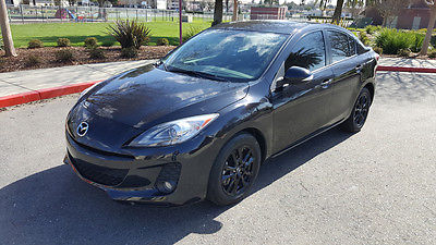 2013 Mazda Mazda3 s Grand Touring Sedan 4-Door 2013 MAZDA3 s GRAND TOURING SEDAN, LEATHER, NAVIGATION, HEATED SEATS, ROOF, TINT