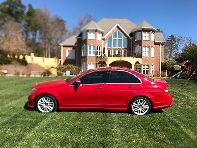 2009 Mercedes-Benz C-Class c300 VERY CLEAN, JUST SERVICED, GREAT COLOR COMBO, SPORT MODEL