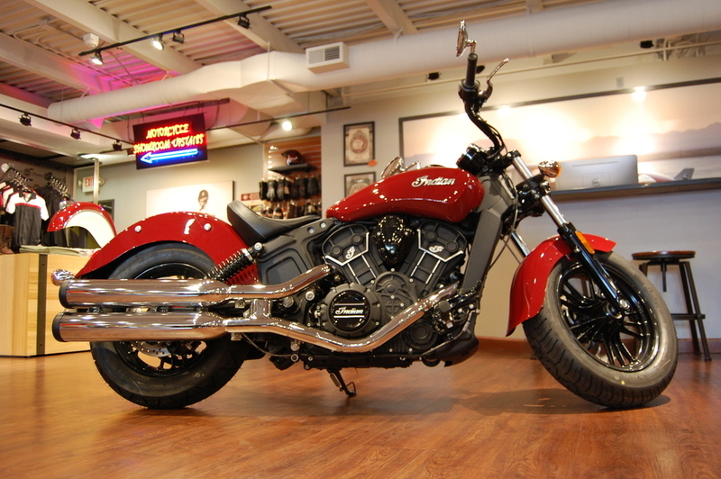 2016 Indian Scout Sixty Indian Motorcycle Red