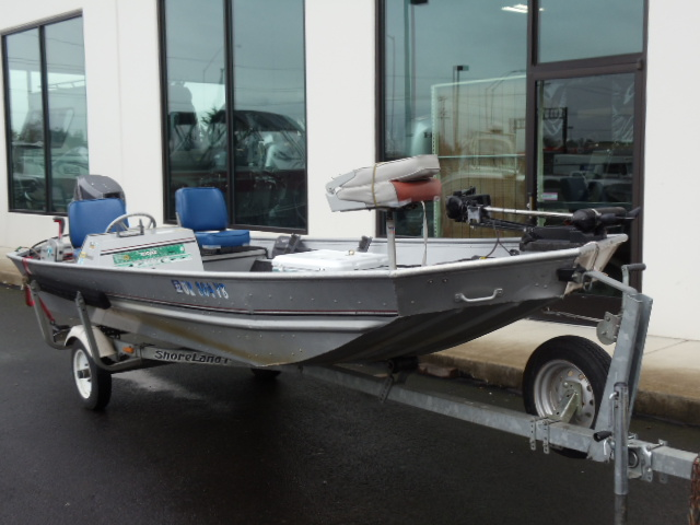 1994 Alumacraft Bass Boat