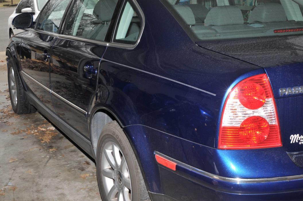 2004 Volkswagen Passat GLS VW Passat '04 GLS Turbo - Clean - Wrecked but Bolt-on Repairable